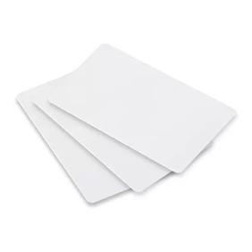 Cartão Branco para Crachás