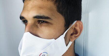 mascara 3d personalizada para empresas
